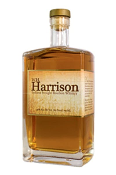 W.H. Harrison Indiana Straight Bourbon Whiskey