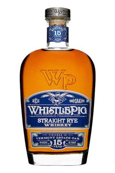 WhistlePig 15 Year Rye Whiskey