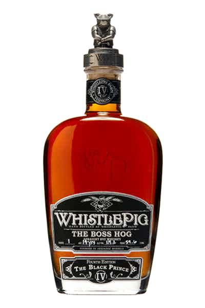 Whistlepig Boss Hog: The Black Prince
