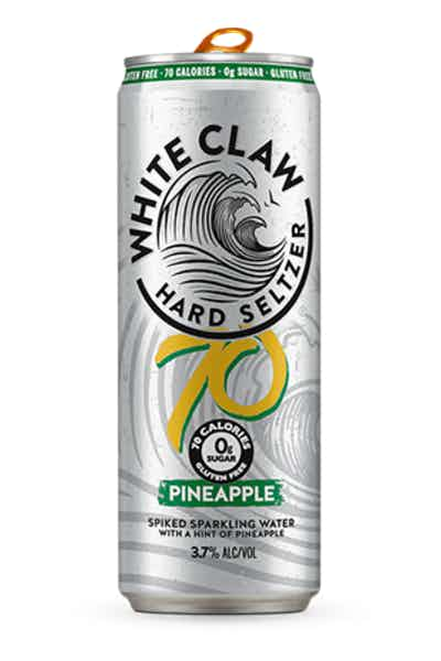 White Claw 70 Pineapple Hard Seltzer