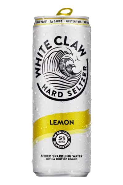 White Claw Hard Seltzer Lemon Single