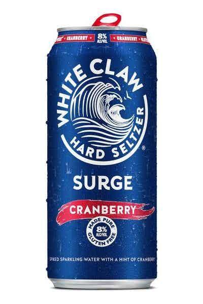 White Claw Hard Seltzer Surge Cranberry