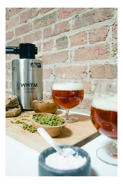 WHYM Golden Amber Ale Recipe Kit