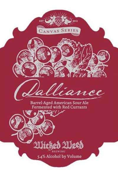 Wicked Weed Brewing Dalliance