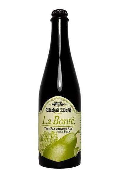 Wicked Weed Brewing La Bonte Pear
