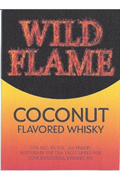 Wild Flame Whisky Coconut