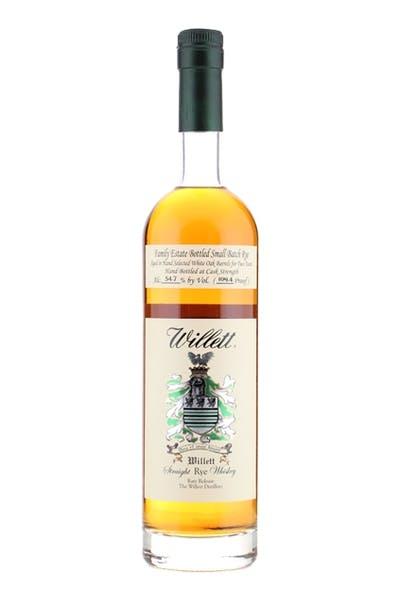 Willett Family Estate Bottled Rye Aged 2 Years