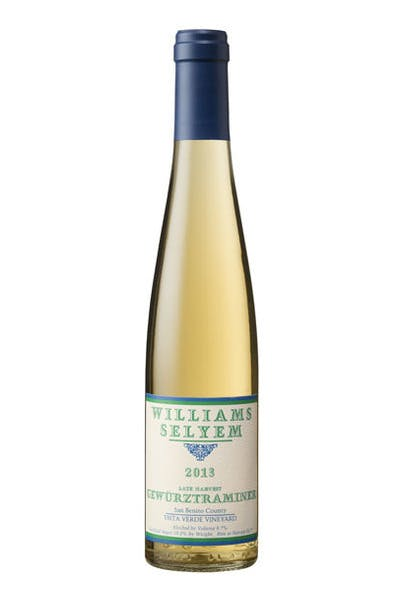 Williams Selyem Late Harvest Gewurztraminer 2013