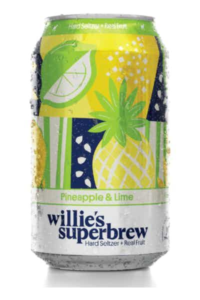 Willie's Superbrew Pineapple & Lime Hard Seltzer