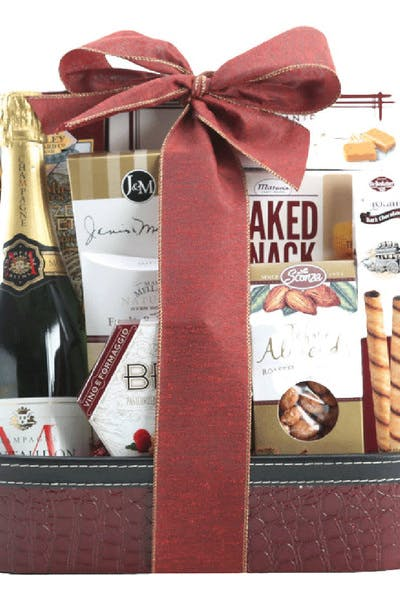 Wine Gift Basket Montaudon Brut