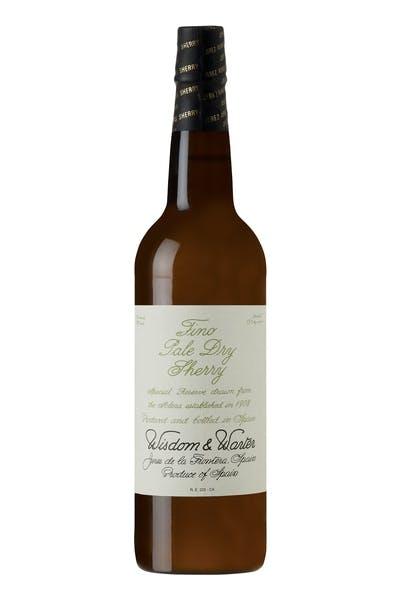 Wisdom & Warter Fino Pale Dry Sherry