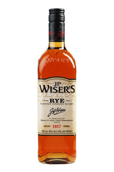 Wiser's Canadian Rye Whisky