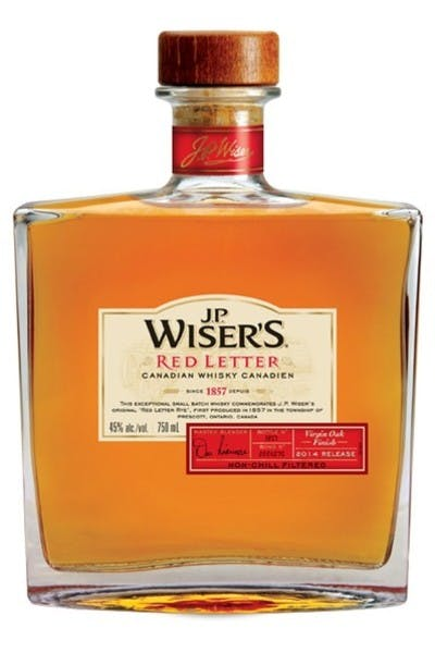 Wiser's Red Letter