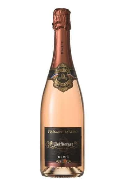 Wolfberger Cremant d'Alsace Brut Rose