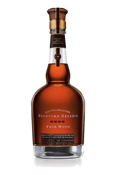 Woodford Reserve Master's Four Wood Finish
