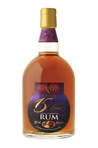 XM Supreme Caribbean Rum 15 Year