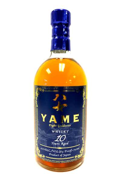 Yame Eight Goddesses Japanese Whisky 10 Year