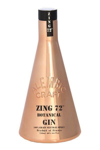 Zing 72 Botanical Gin